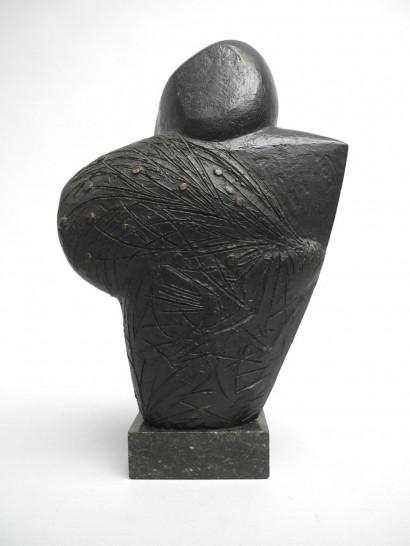 Emile GILIOLI (1911-1977)  «Boisseloune»  1959  Bronze  Numéroté 6/6  H. 35 cm