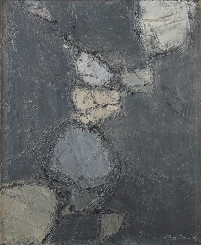 Léon ZACK (1892 – 1980)     Huile sur toile et datée en bas à droite, 1959   Dimensions : 65 x 54 cm   Provenance : Galerie Calatchi, Paris