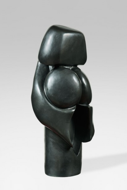 Gérard VOISIN  (France, Né en 1945)     «Le Sexe»  1970     Bronze EA I/III  H. 82 x L. 30 x P.24,5 cm     Certificat d'authenticité de l'artiste