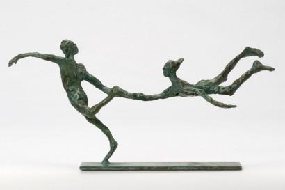 """""""Vite vite"""" de Roseline Granet  2012  Bronze, 2/8  15.5 x 32.5 x 8 cm"""