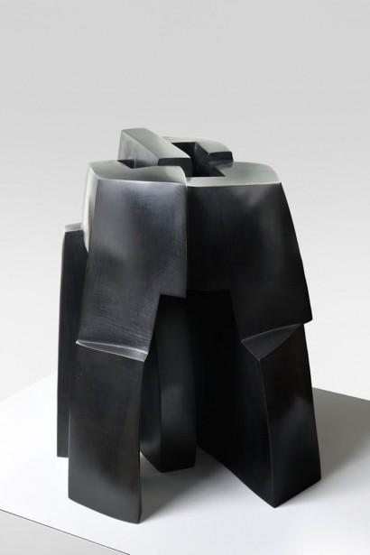 """La Morada"" de Parvine Curie  1983  bronze  n°4/8  46 x 40 x 40 cm"