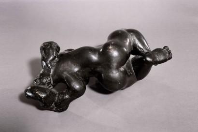 """""""Orogénie"""" de Jacques Zwobada  1943  Bronze  26 x 57 x 28 cm  Bibliographie : - « Zwobada », Pierre Cabanne, Les éditions de l'amateur, 1992, oeuvre reproduite p. 140-141"""