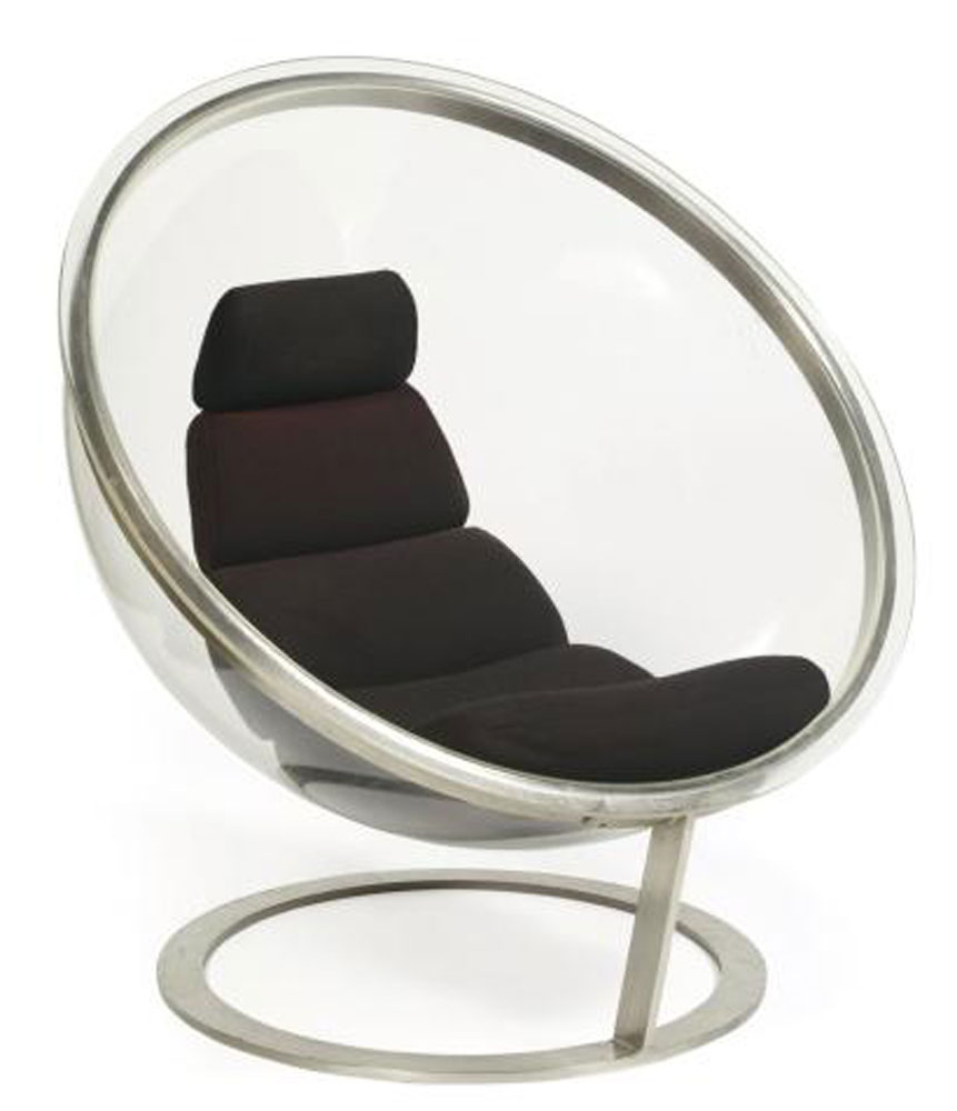 christian daninos fauteuil bulle circa 1970 martel greiner. Black Bedroom Furniture Sets. Home Design Ideas