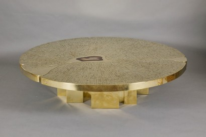 DRESSE table basse circulaire