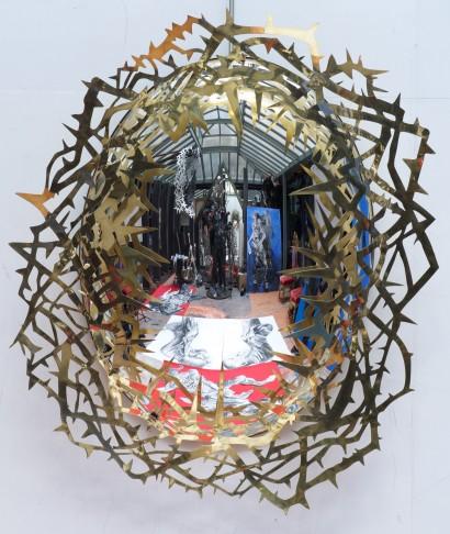 Daniel HOURDE. (hourdé) Galerie Agnes Monplaisir. 11/2013 ©david atlan