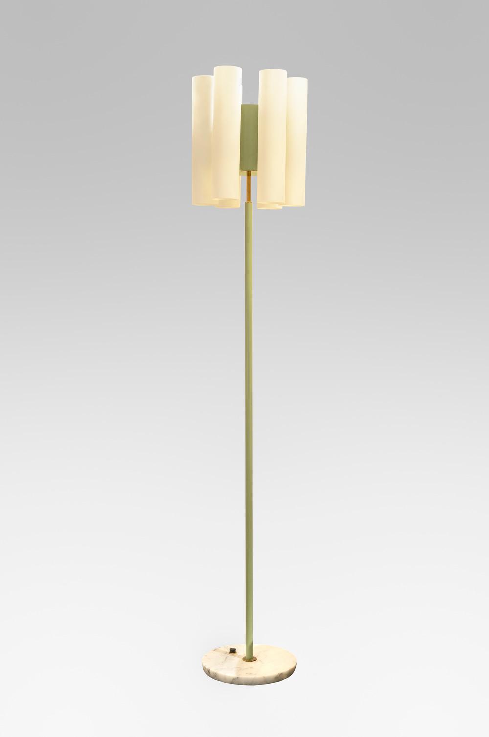 stilnovo lampadaire circa 1950 martel greiner