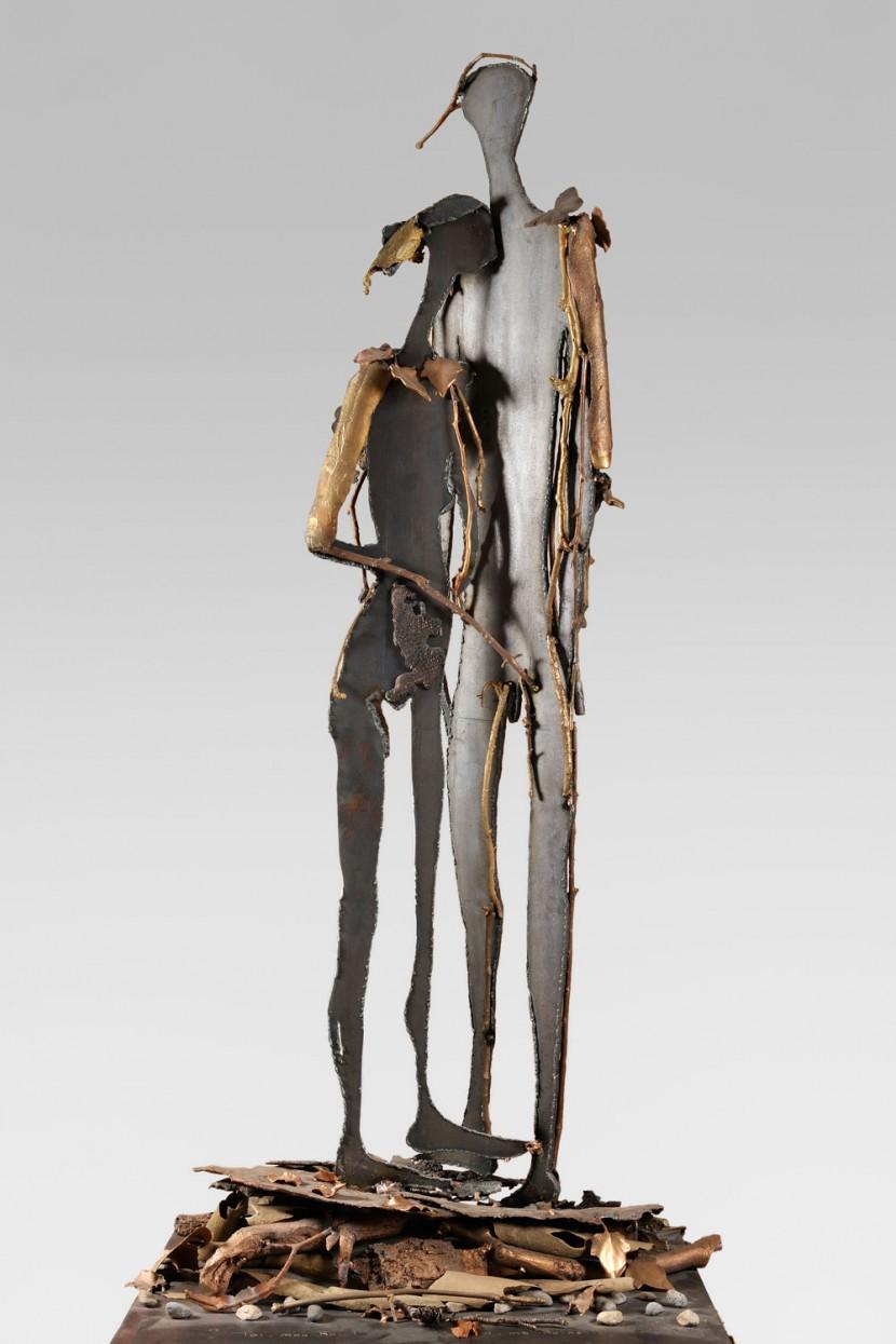 site-PONTHAUD-NEYRAT-Toi-mon-Roi-toi-ma-Reine-2012-bronze-PU-H184-x-60-x-88cm-80kg.jpg